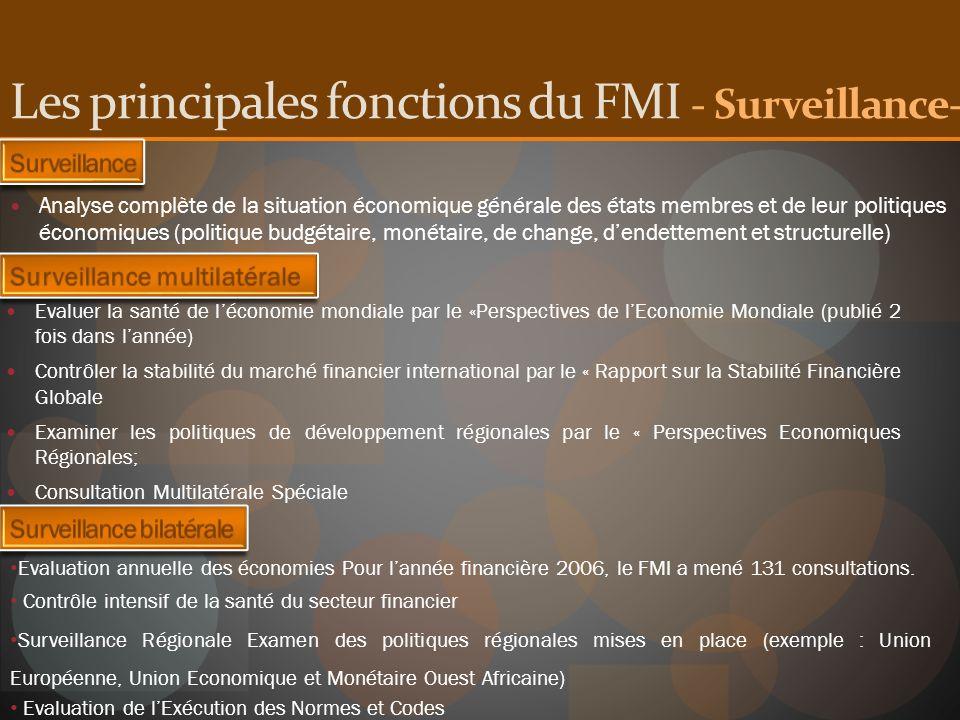 Analyse complète de la situation économique générale des états membres et de leur politiques économiques (politique budgétaire, monétaire, de change,