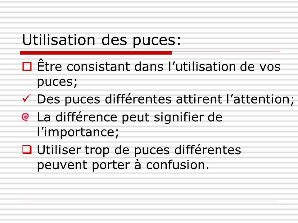 Comment utiliser les images ? (suite) Éviter dutiliser trop dimages dans une diapositive.