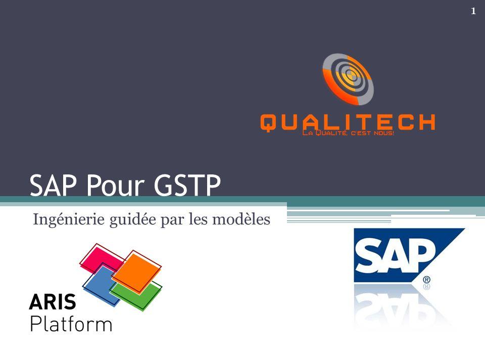 SAP Pour GSTP Ingénierie guidée par les modèles 1