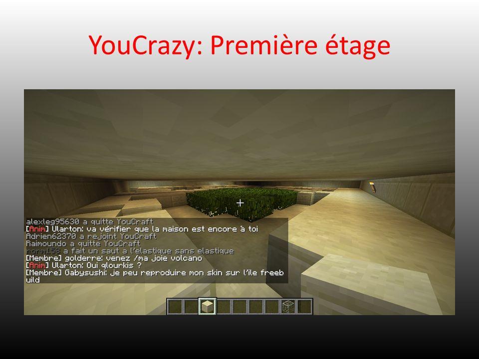 YouCrazy: Première étage