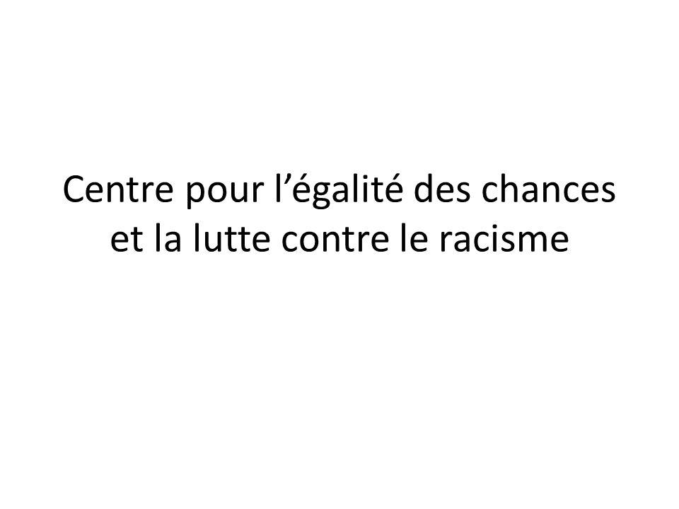 Centre pour légalité des chances et la lutte contre le racisme