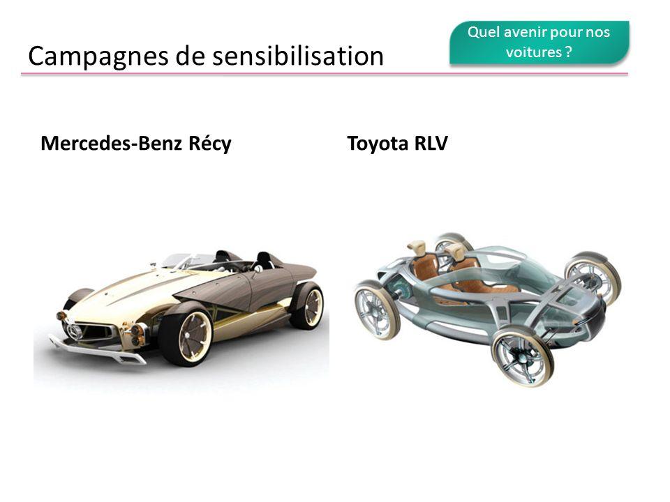 Campagnes de sensibilisation Mercedes-Benz RécyToyota RLV
