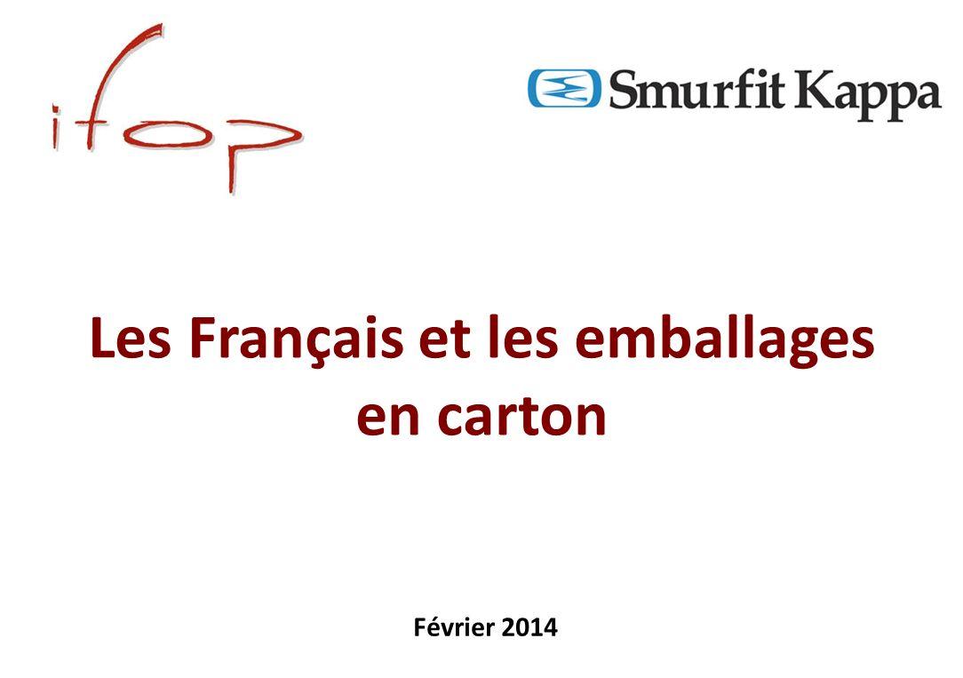 Les Français et les emballages en carton Février 2014