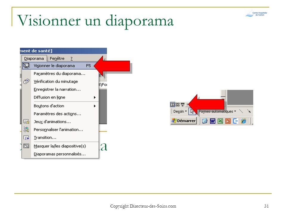 Copyright Directeur-des-Soins.com 30 Insérer des objets – Formes automatiques