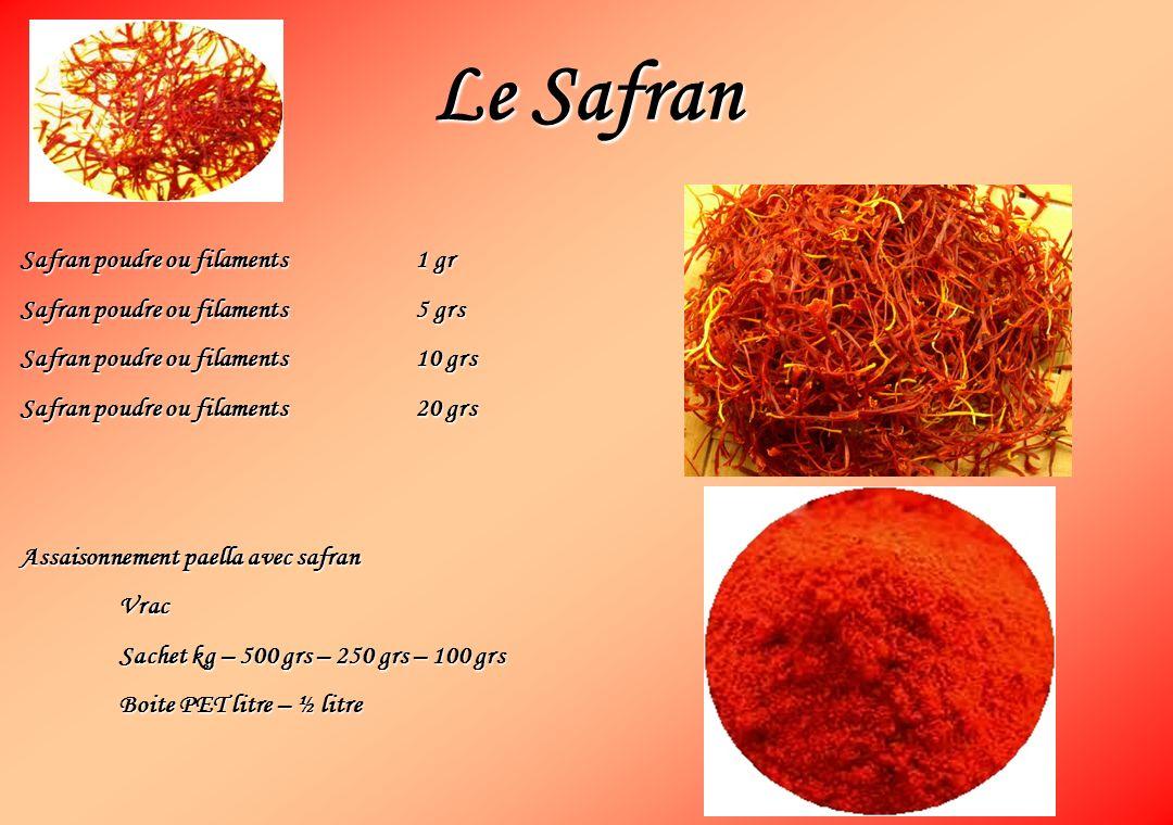 Le Safran Safran poudre ou filaments1 gr Safran poudre ou filaments5 grs Safran poudre ou filaments10 grs Safran poudre ou filaments20 grs Assaisonnem