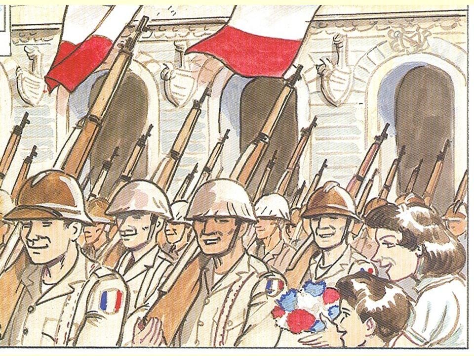Alors, pour défendre la liberté De mon pays, encore une fois saccagé, Pour la guerre de 39 jai été appelé.