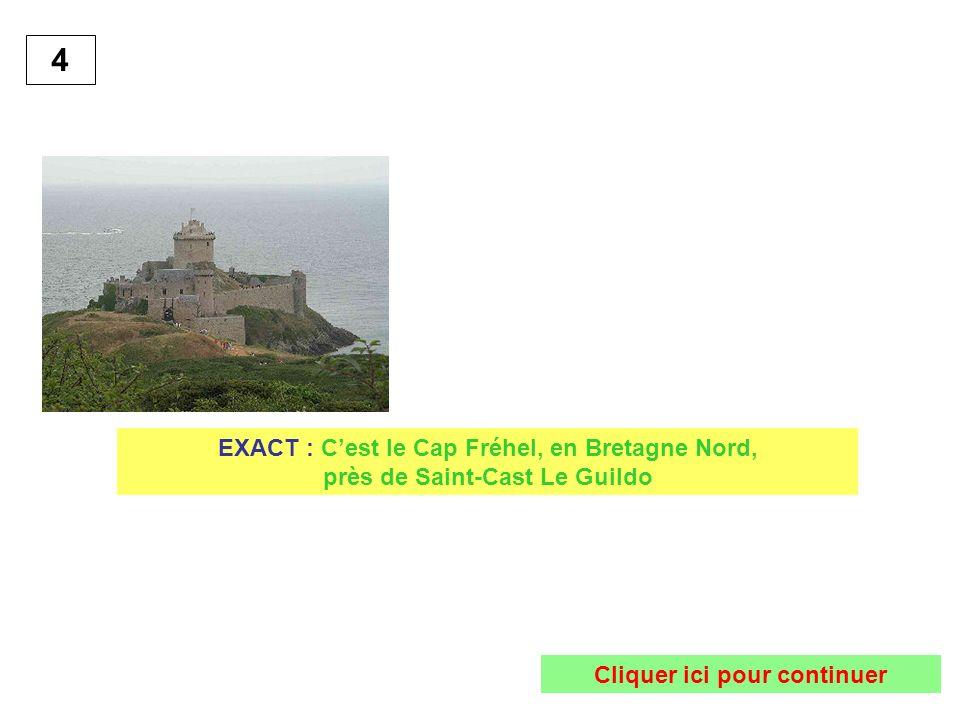 4 EXACT : Cest le Cap Fréhel, en Bretagne Nord, près de Saint-Cast Le Guildo Cliquer ici pour continuer