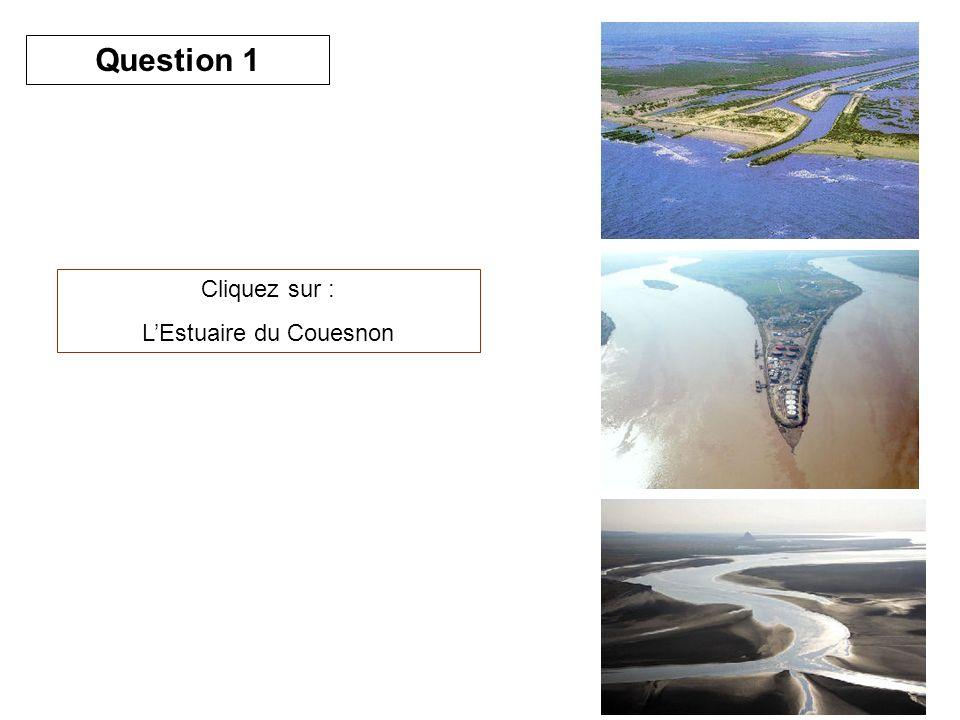 Cliquez sur : LEstuaire du Couesnon Question 1
