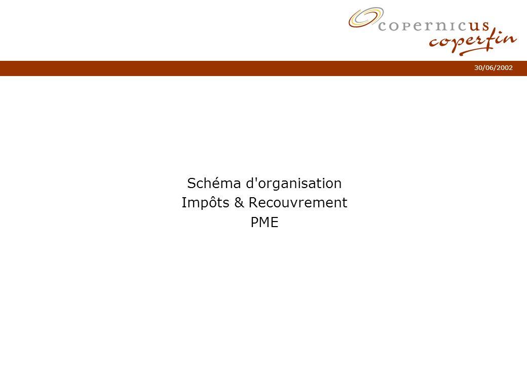 30/06/2002 Schéma d'organisation Impôts & Recouvrement PME