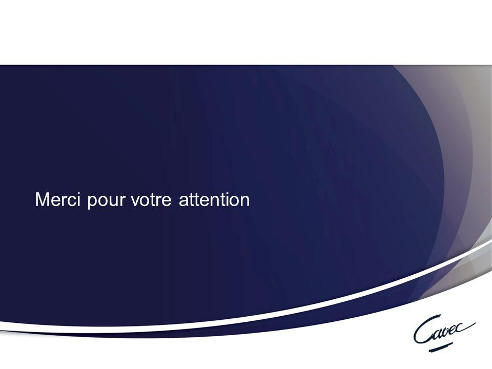 Réunion du 17 février 2011 Cumul emploi-retraite au régime complémentaire 32 Merci pour votre attention