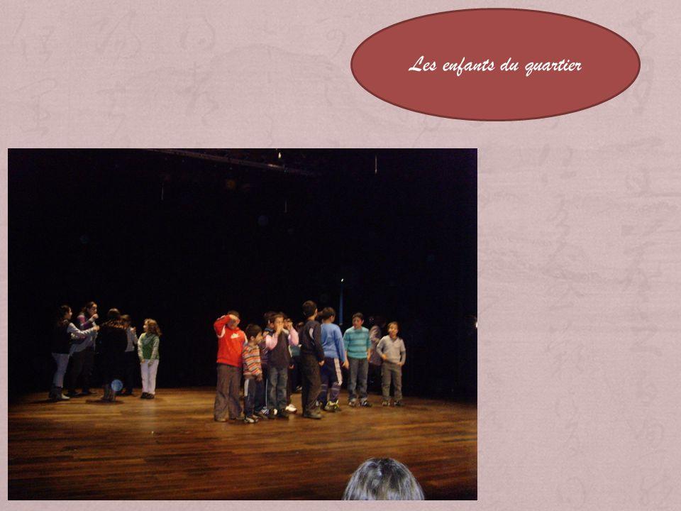 Esprit de Quartier Tableau 3 Transition 3 Les enfants du quartier Scène 1 Les verts Scène 2 Jeu denfants Scène 3 Les enfants ont grandi