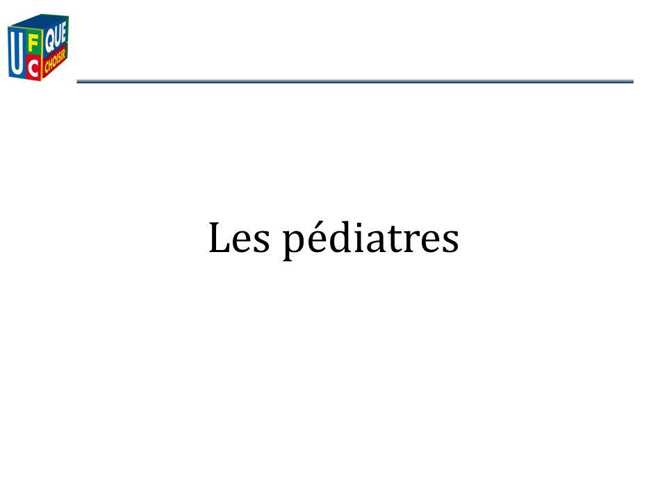 Les pédiatres
