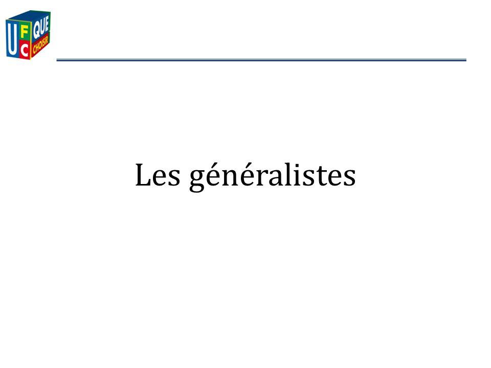 Les généralistes