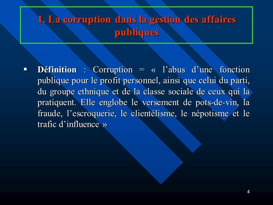 3 PLAN (suite) 3.Les politiques économiques et lenvironnement des affaires.