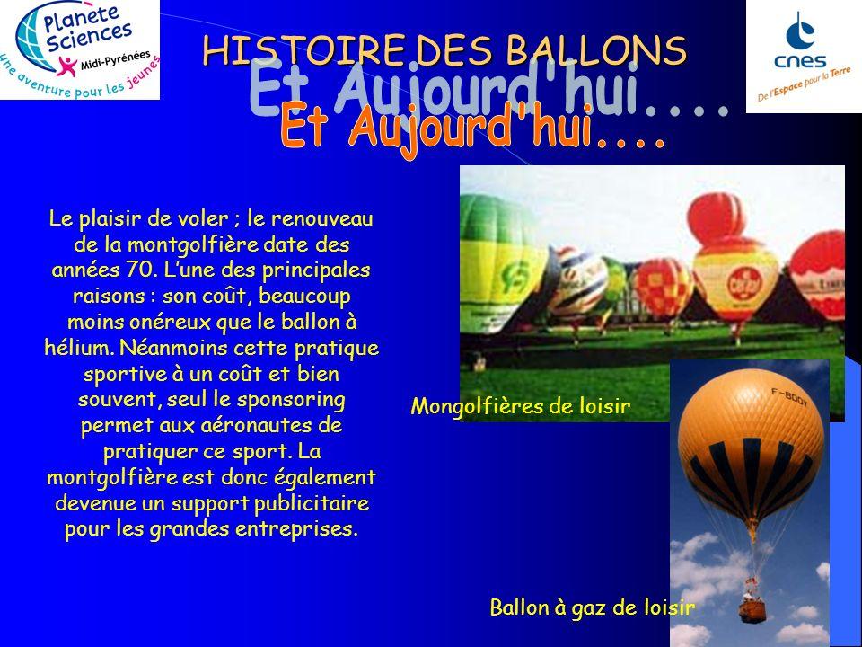 HISTOIRE DES BALLONS En 1927,Pierre Idrac et Robert Bureau expérimentent le premier émetteur radio dont les émissions depuis la stratosphère sont reçu