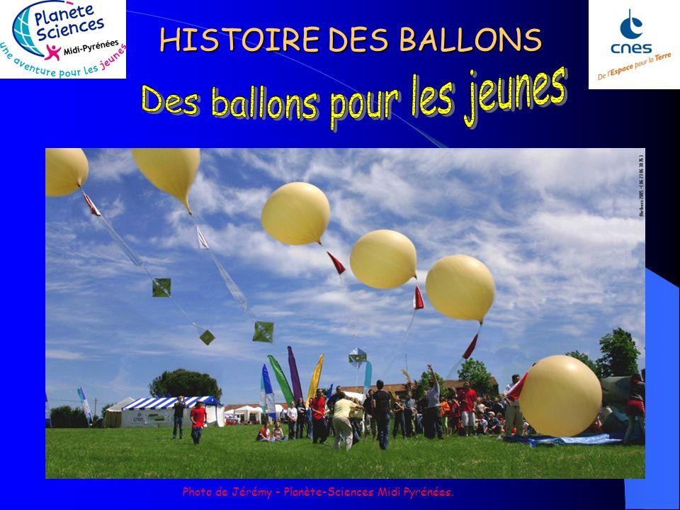 HISTOIRE DES BALLONS Des projets de ballons pour explorer les atmosphères dautres planètes