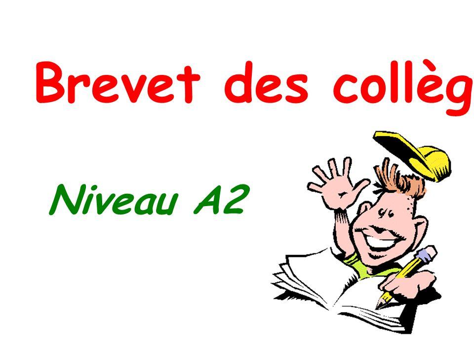 NIVEAU A2 -Choix de la langue : LV1 ou LV2 -Evaluation de la LV1 et de la LV2 en contrôle continu -Pas dépreuve supplémentaire ou spécifique mais une évaluation régulière des 5 activités langagières -Lappréciation de la maîtrise du niveau A2 pour la langue étrangère choisie par le candidat lors de son inscription fera lobjet dune saisie séparée.