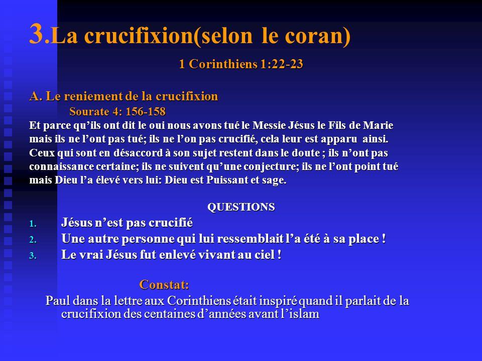 Sourate 10: 94 Si tu es dans le doute sur ce que nous tavons fait descendre vers toi interroge alors ceux qui lisent le livre révélé avant toi. La vér