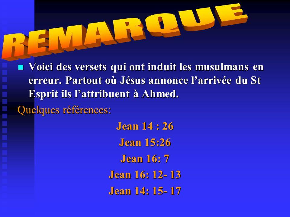 . Et quand Jésus fils de Marie dit: ô enfants dIsraël, je suis vraiment le messager dAllah (envoyé) à vous, confirmateur de ce qui, dans la Thora, est