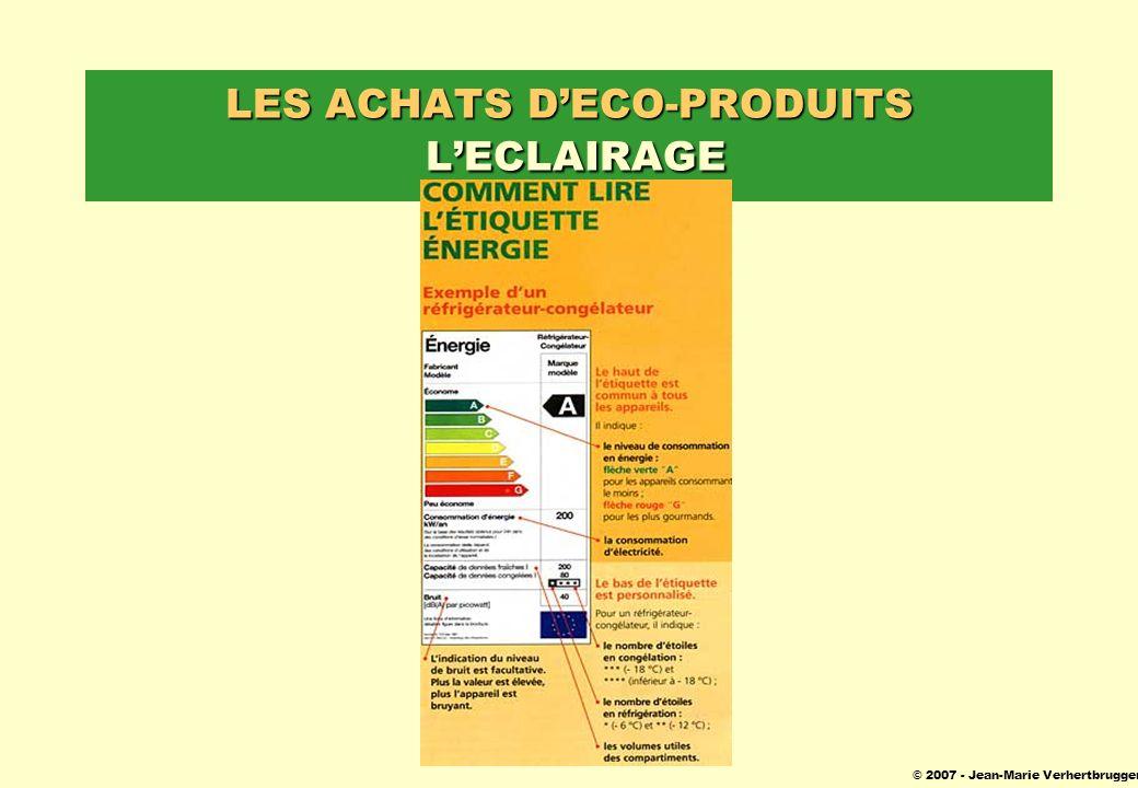 © 2007 - Jean-Marie Verhertbruggen LES ACHATS DECO-PRODUITS LECLAIRAGE