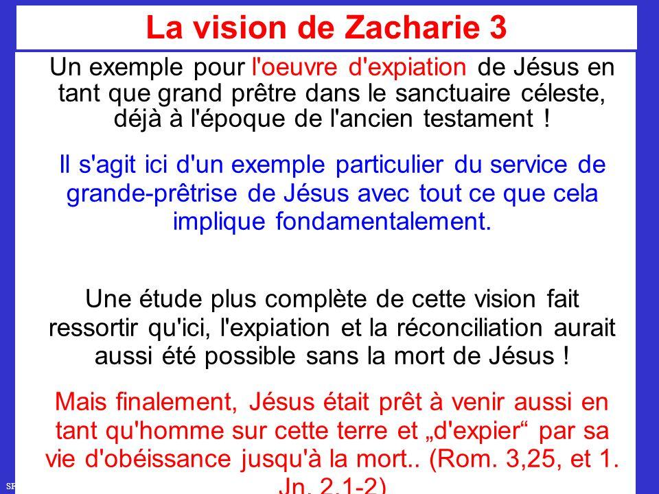 SFR749 www.hopeandmore.at Un exemple pour l oeuvre d expiation de Jésus en tant que grand prêtre dans le sanctuaire céleste, déjà à l époque de l ancien testament .