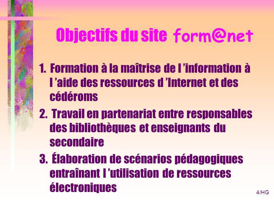 4/HG Objectifs du site form@net 1.