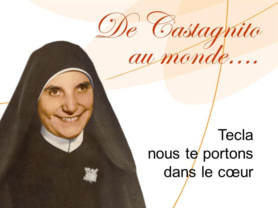 Tecla nous te portons dans le cœur De Castagnito au monde….