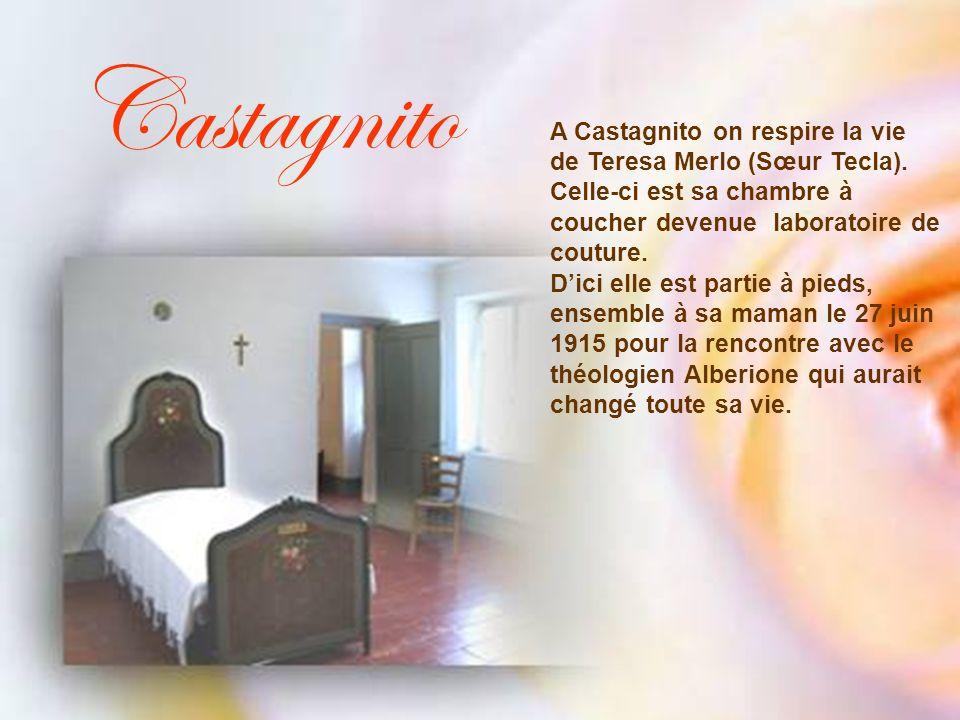 Castagnito A Castagnito on respire la vie de Teresa Merlo (Sœur Tecla).