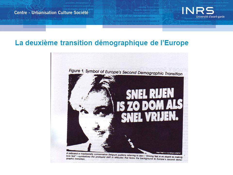 La deuxième transition démographique de lEurope