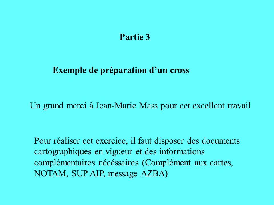 Partie 3 Exemple de préparation dun cross Un grand merci à Jean-Marie Mass pour cet excellent travail Pour réaliser cet exercice, il faut disposer des