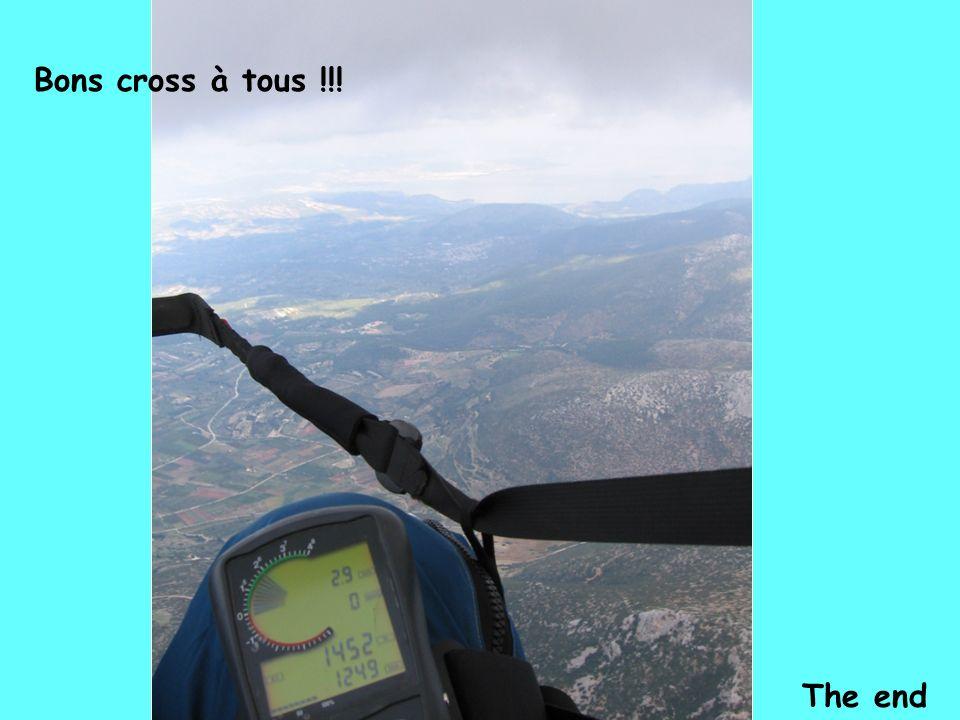 The end Bons cross à tous !!!