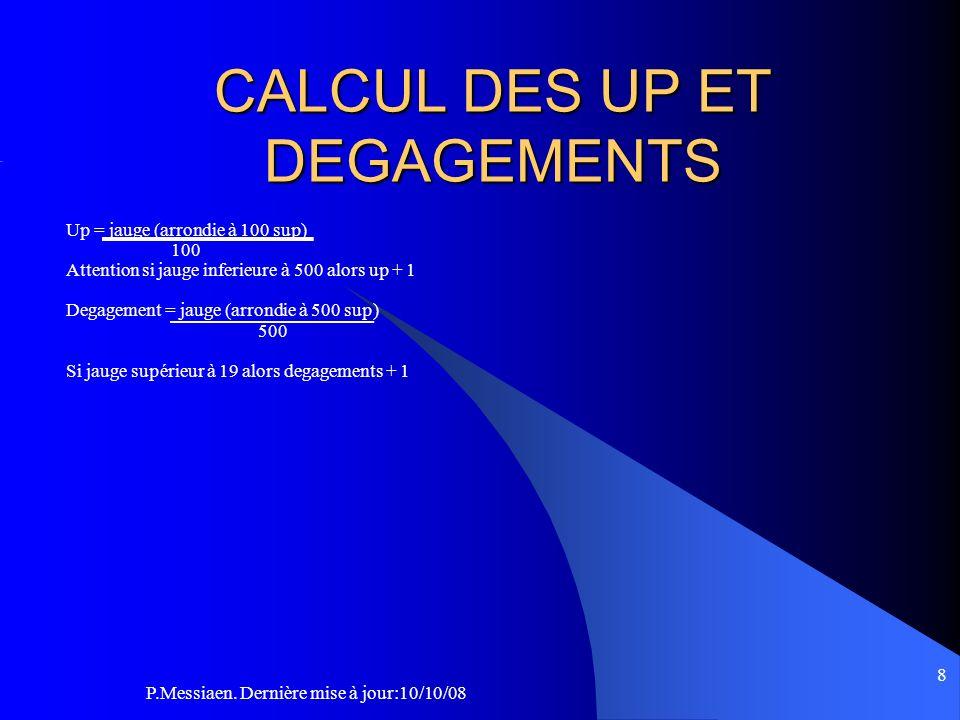 9 1 up = 60cm 2up = 140 cm Au delas 60cm X nombre dup Attention 5 mètres entre deux dégagements sinon cela est considéré comme 1 seul