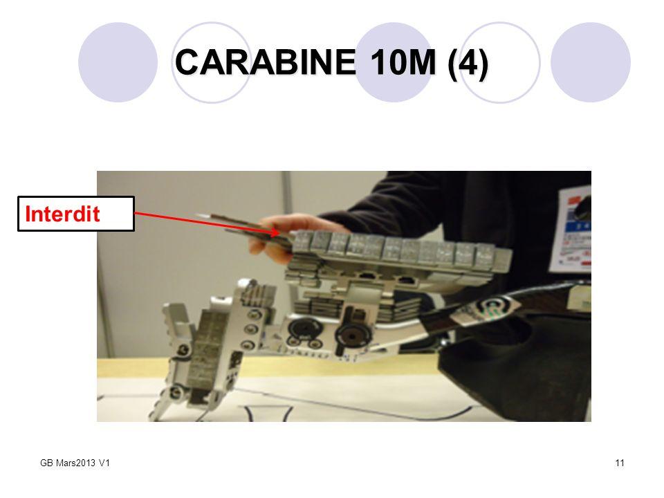 11 CARABINE 10M (4) Interdit GB Mars2013 V1