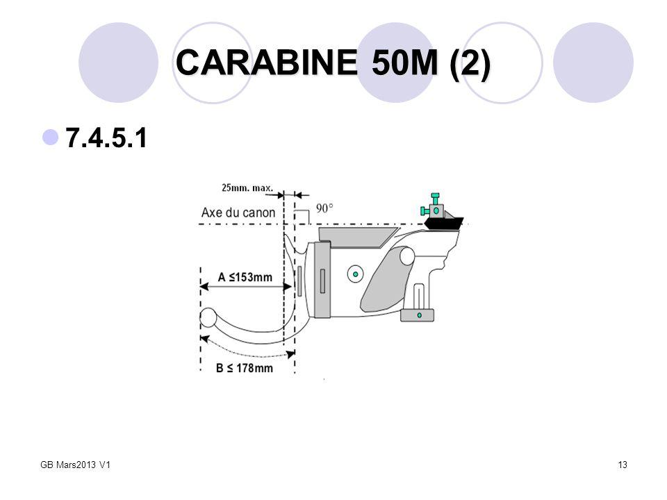 13 CARABINE 50M (2) 7.4.5.1 GB Mars2013 V1