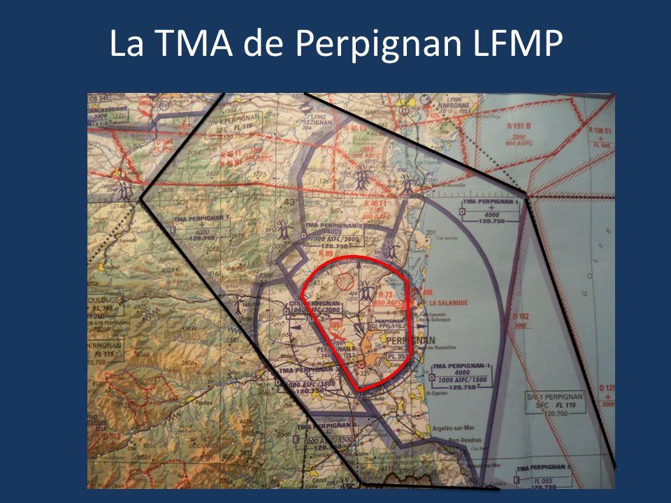 La TMA de Perpignan LFMP