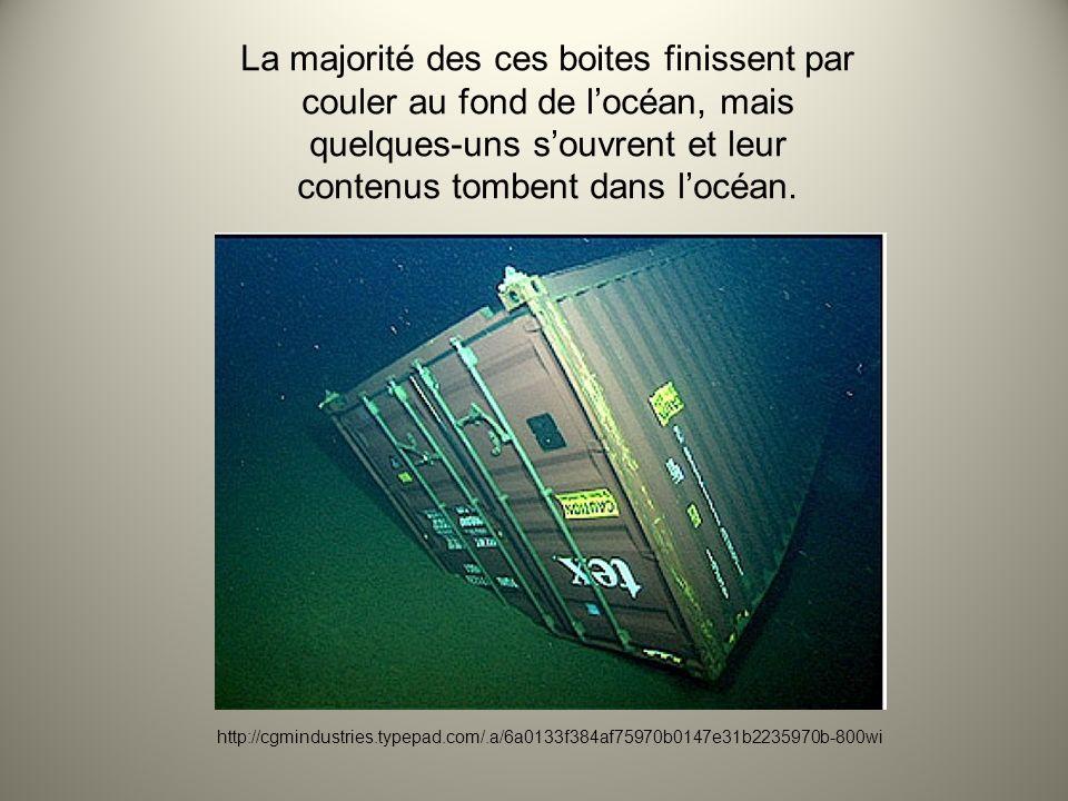 En 1992, une boite contenant une livraison de canards en caoutchouc (et dautres jouets en caoutchouc) ont tomber dans lOcéan Pacifique et depuis se temps le Dr.