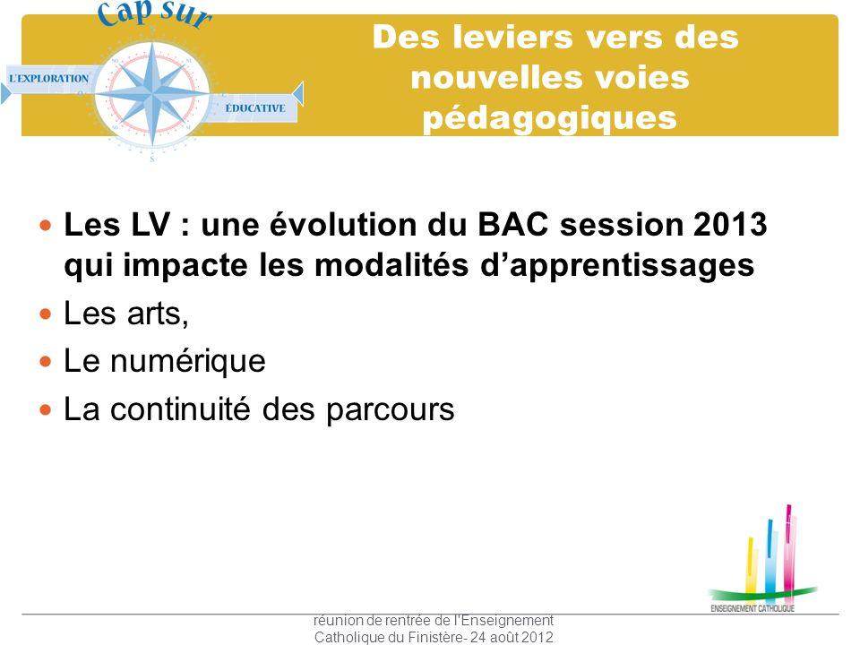 Des leviers vers des nouvelles voies pédagogiques Les LV : une évolution du BAC session 2013 qui impacte les modalités dapprentissages Les arts, Le nu