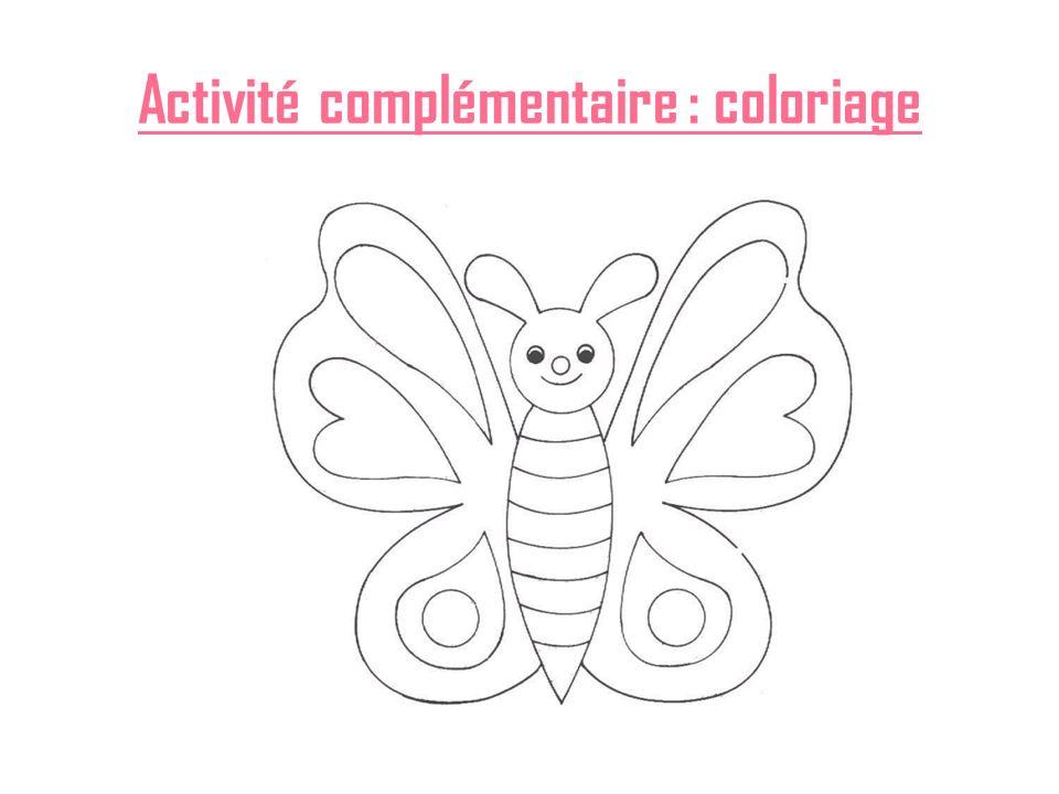 Activité complémentaire : coloriage
