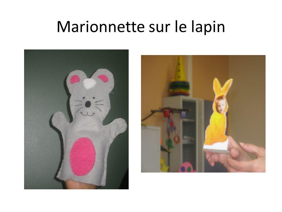 Marionnette sur le lapin