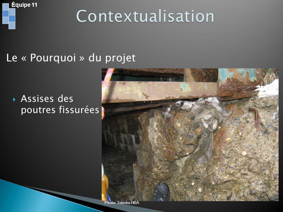 Équipe 11 Bois Domtar, Val Dor, 940km Acier darmature et structural Arcelor Mital, Contrecoeur, 290km Béton Demix Béton, Sherbrooke, 45km Transport des Matériaux