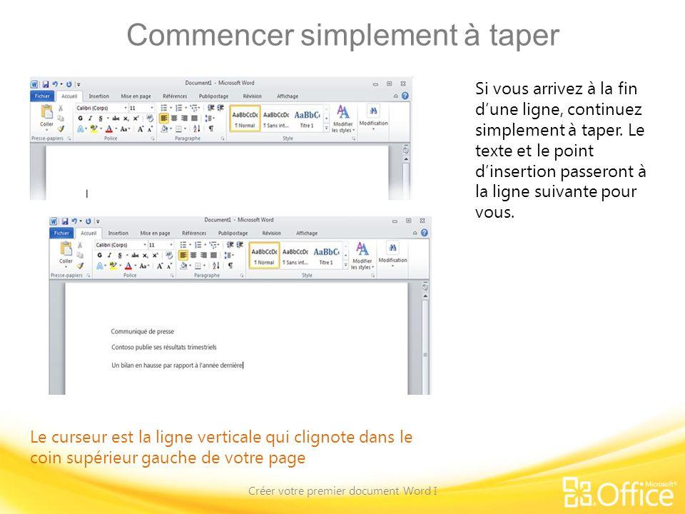 Ajouter un style Créer votre premier document Word I Les groupes Paragraphe et Styles, sous longlet Accueil.