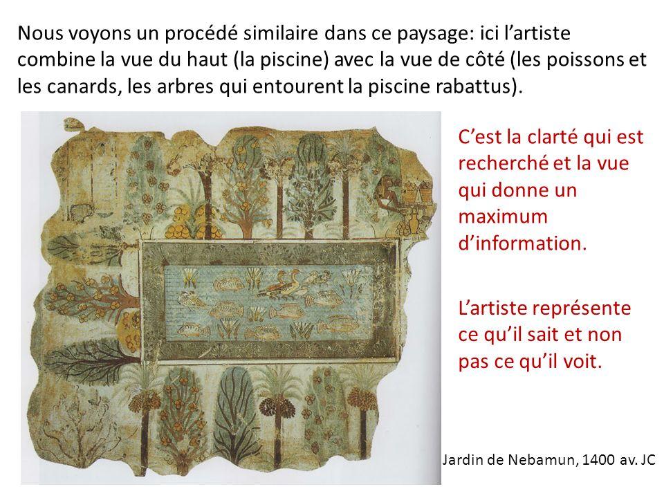 Jardin de Nebamun, 1400 av.