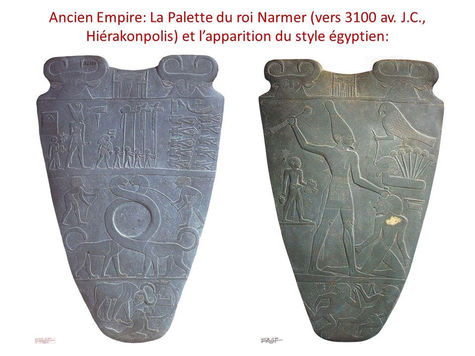 Ancien Empire: La Palette du roi Narmer (vers 3100 av.