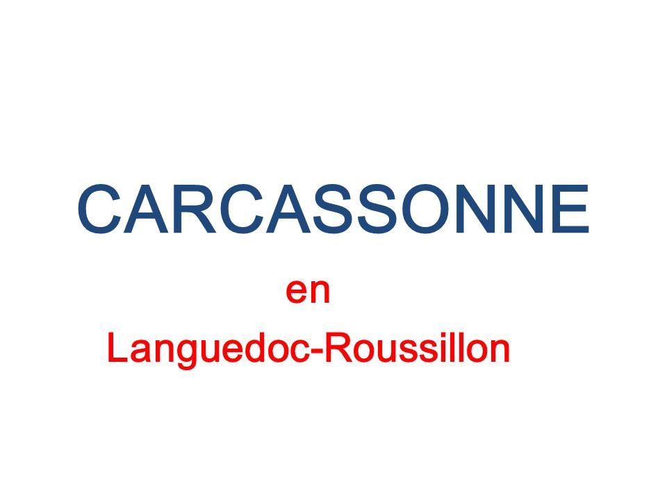 CARCASSONNE en Languedoc-Roussillon