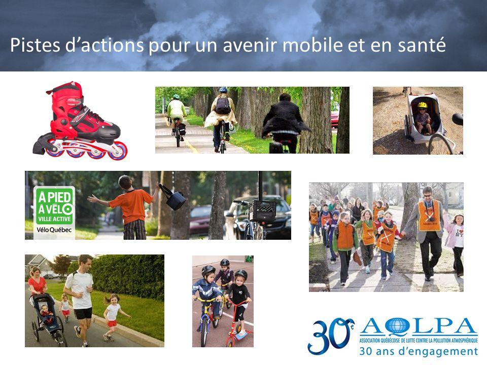 Pistes dactions pour un avenir mobile et en santé