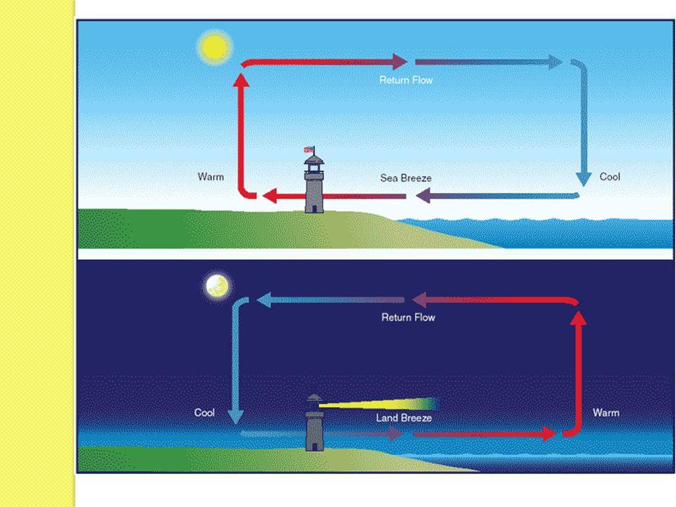 Quand lair chaud et humide au dessus de la courant du Golfe se souffle au dessus de la courant froide de Labrador, ça deviennent froide se condense et puis produit du brouillard.