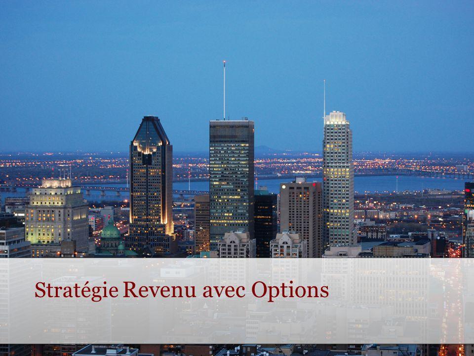 Stratégie Revenu avec Options