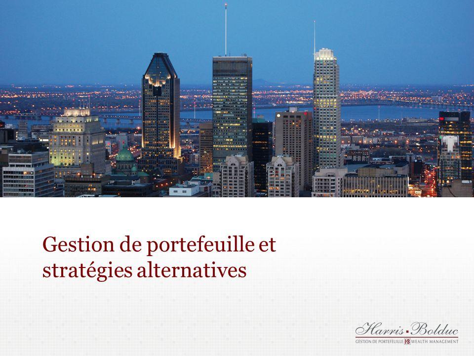 Gestion de portefeuille et stratégies alternatives