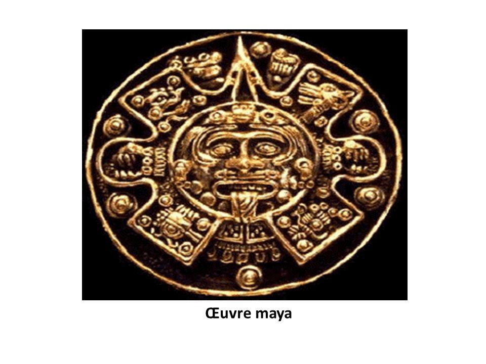 Œuvre maya
