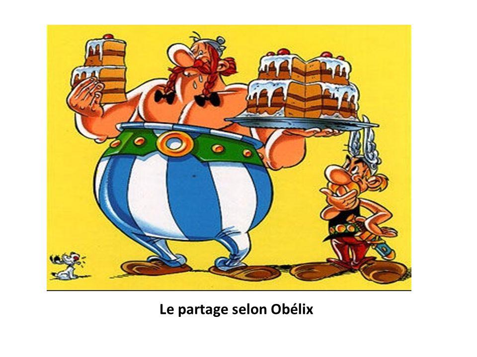 Le partage selon Obélix